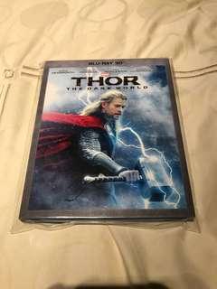 Thor The Dark World 3D Blu-ray