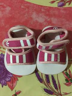 Baby shoes #girlshoes #adidas #slippers