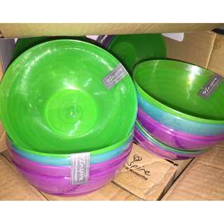 4pcs n Multi-Colored BPA-Free Bowls - Cereal Fruit or Soup Bowl