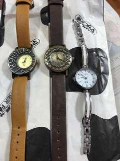 日本 手錶3隻