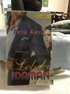 Malay novel- with plastic cover