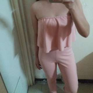 Pink Sexy Jumpsuit