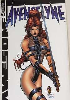 Comics Avengelyne (4)+ Areala, (3) + Savant Garde(2)+ prophet (2)