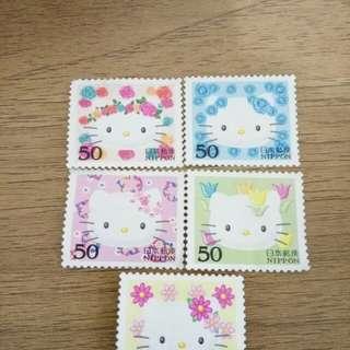 包郵Hello Kitty 郵票