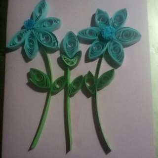 Quilling handmade cards