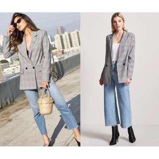OshareGirl 03 美單經典格紋西裝外套