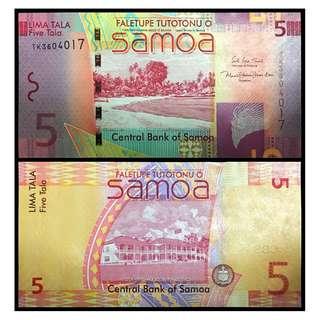 * UNC * 2017 SAMOA 5 Tala P38