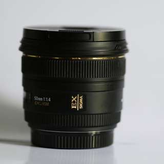 Sigma 50mm f1.4
