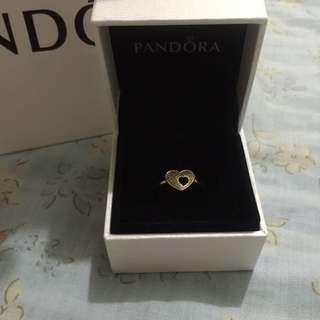 Authentic Pandora Heart Ring