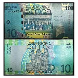 * UNC * 2017 SAMOA 10 Tala P39