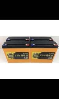lead acid battery 12v 22.3ah/12v 13.3ah