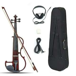 Violin Electric Mozart 4/4 Complete set