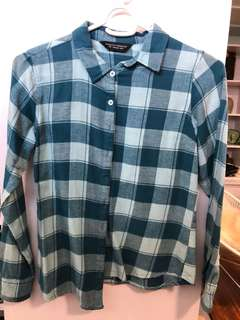 Dorothy Perkins Checkered Polo - Preloved, Excellent Condition