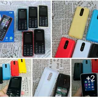 🔥Nokia N108 basic Phone      P550 ✅1.77 inch Screen ✅Camera ✅Mp3/Mp4 Player ✅FM Radio ✅Dual Sim ✅Facebook ✅ Support T-flash Card  ✅One Week Warranty  ✅W/Charger