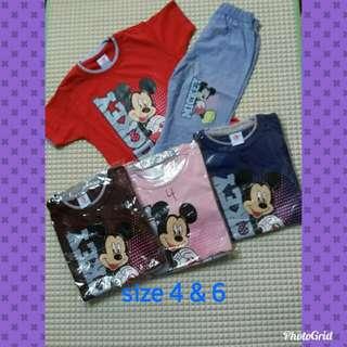 Mickey pyjamas stock clearance