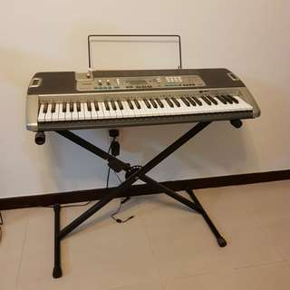 Casio Electrical keyboard with stand (Model: LK-215)