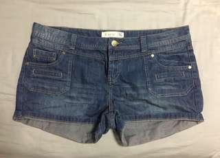 BNWOT AWEAR denim shorts uk16