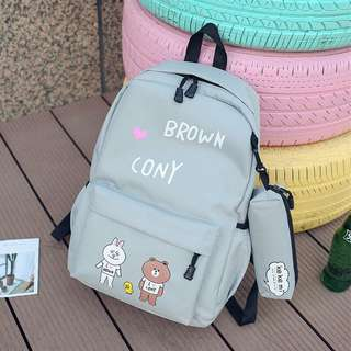 Little Lines N Friends Backpack - SDS762