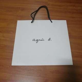 Agnes B Paper Bag