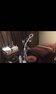 Facial/manicure room for rental