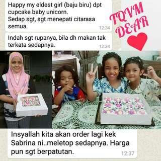 Feedback sabrina bakery