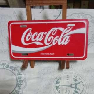 可口可樂小鐵牌