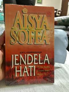Malay novel- still in plastic wrapped