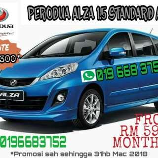 New Perodua Alza 1.5 standard auto