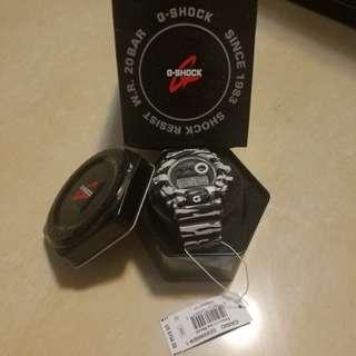 G-shock手錶 斑馬紋