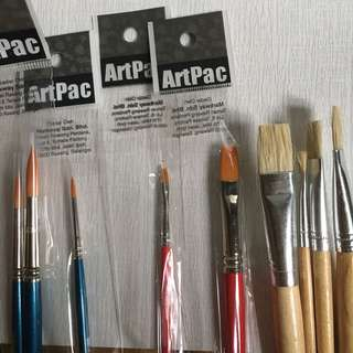 Watercolour Brush (Free Palette)