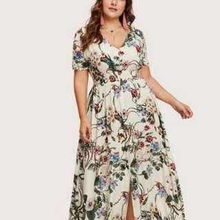Elegant Plus Size Maxi Dress