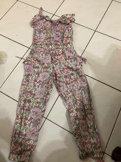 Cotton on flower jumpsuit