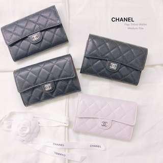CHANEL Flap Wallet in Medium Size