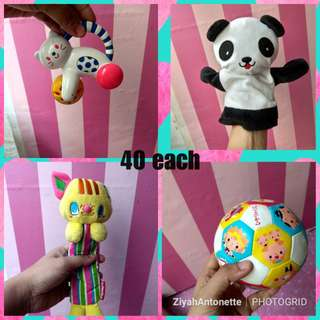 Toys for babies 40 EACH