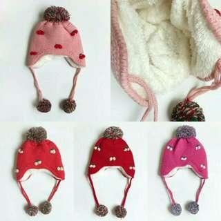 Girls Fleece Lined Beanies!