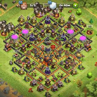 Clash Of Clans Th10 Max Acc