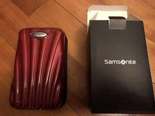 Samsonite 紅色 盒袋 red box bag 100% new