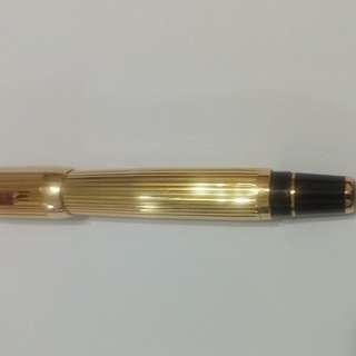 萬寶龍波西米亞全金鋼筆