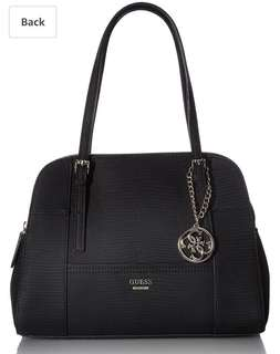 Guess-Huntley Cali Satchel-Black