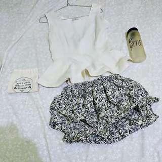 Satu set rok dan baju