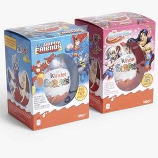 🇬🇧[現貨]英國購 超級英雄 巨大彩蛋 健達出奇蛋  KINDER SURPRISE Kinder egg 100g