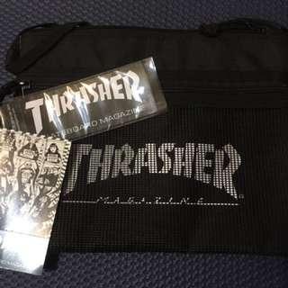 全新Thrasher 日線 側背包