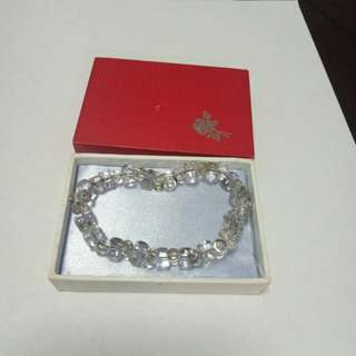 Pure Crystal bracelet from  Tibet