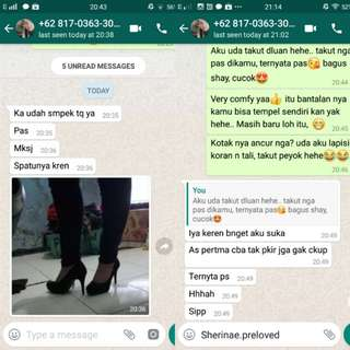 TESTI😍 Thankyouu..❤❤ Ms. Dita for shopping with us🙏