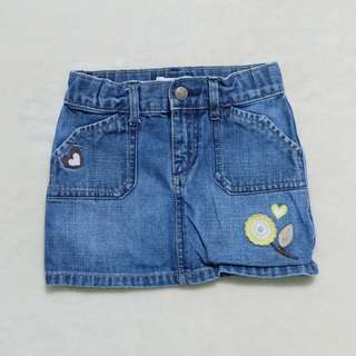 Old Navy Denim Skirt 3T