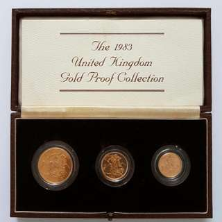 1983 UK Gold Proof Collection Limited Edition