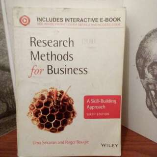 RESEARCH METHODS FOR BUSINESS English Edition