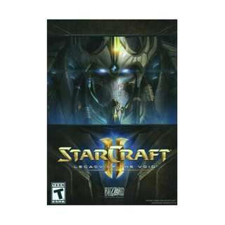 PC Starcraft Legacy Of Void