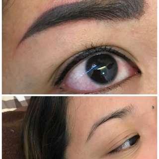 6D Eyebrow Semi-permanant micro-pigmentation