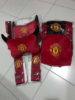 Manchester United Car Seat Cover Set